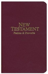 KJV Economy Pocket New Testament, Psalms & Proverbs