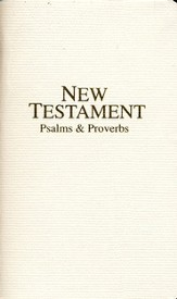 KJV Economy Pocket New Testament with Psalms and Proverbs