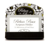Perfect Peace Scripture Card Holder