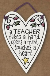 Teacher Takes a Hand, Opens Minds Plaque