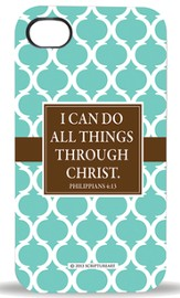 I Can Do All Things Through Christ, iPhone 4 Case