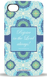 Rejoice In the Lord, iPhone 4 Case