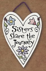 Sister's Share the Journey Plaque
