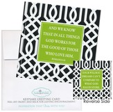 In All Things God Works For the Good Notecard Sticker