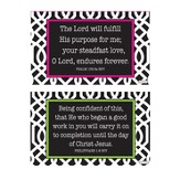 Finding Purpose Decals, Black and White, Pack of 2