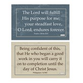 Finding Purpose Decals, Black and Brown, Pack of 2