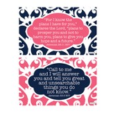 Discovering God's Plan Decals, Black and Pink, Pack of 2