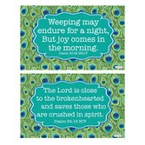 Hope Decals, Blue and Green, Pack of 2