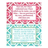 God's Love Decals, Pink and Green, Pack of 2