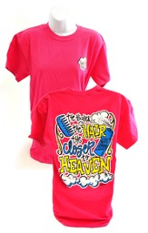 Girly Grace Heaven Shirt, Pink,  Extra Large