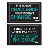 Motivation Decals, Pack of 2