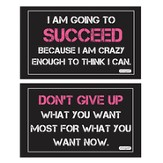 Success Decals, Pack of 2