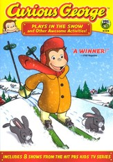 Curious George: Plays In the Snow and Other Awesome Activities!  DVD