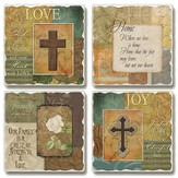 Tumbled Coasters, Life's Milestones, Set of 4