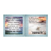 Impact, Encouragement Notecard Sticker