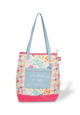 I Have Called You by Name--Quilted Tote Bag