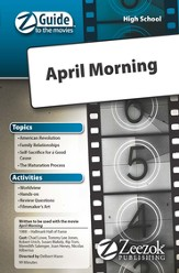 April Morning Movie Guide CD Z-Guide to the Movies