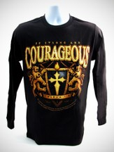 Be Courageous Long-sleeve Tee, Small (36-38)