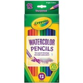 Watercolor Pencils, Pack of 12