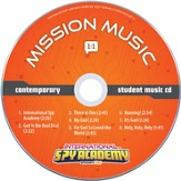 International Spy Academy Student Music Audio CD,  Contemporary, Set of 10