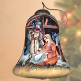 Nativity Manger Neqwa Ornament