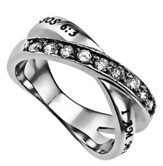 Beloved Radiance Women's Ring, Size 9 (Song of Songs 6:3)