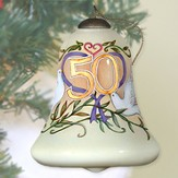 50th Anniversary Neqwa Bell Shaped Ornament
