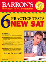6 Practice Tests for the New SAT, 2nd Edition