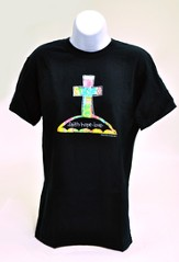 Faith, Hope & Love Tee Shirt, Adult Small (36-38)