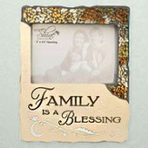 Family is a Blessing Photo Frame