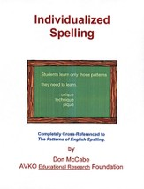 Individualized Spelling