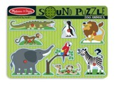Zoo Animals Sound Puzzle, 8 pieces