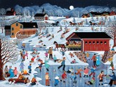 More Snow Coming Advent Calendar