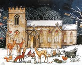 Christmas Cathedral Advent Calendar
