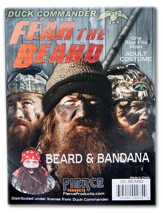 Duck Dynasty, Beard and Bandana Costume Combo