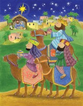 We Three Kings Greeting Card Advent Calendar