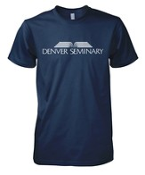 Denver Seminary Shirt, Navy, Small