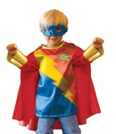 God's Superhero Dress-up Set for Size 2-4