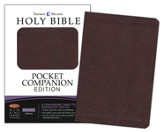 NKJV Pocket Companion Bible Imitation leather, brown