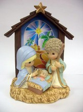 LED Nativity, Precious Moments
