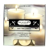 Cinnamon Bun Tea Lights, 9 Pack