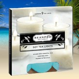 Tea Lights Caribbean Breeze, 9 Pack