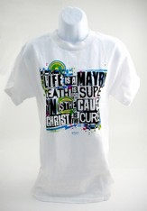 Christ Is The Cure Shirt, White, Extra Large