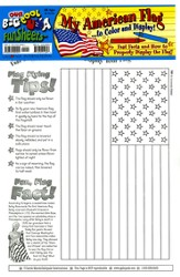My American Flag FunSheet Pack of 30