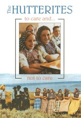 The Hutterites: To Care and Not To Care, DVD