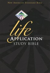 NAS Life Application Study Bible, Hardcover  - Imperfectly Imprinted Bibles