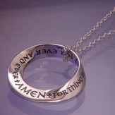 Thine is the Kingdom Mobius Necklace