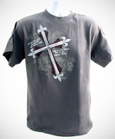 Jesus Made the Ultimate Sacrifice Shirt, Gray, Large