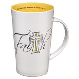 Faith Mug, Your Faith and Hope are in God