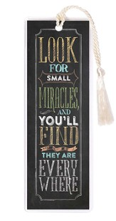 Look For Small Miracles Bookmark